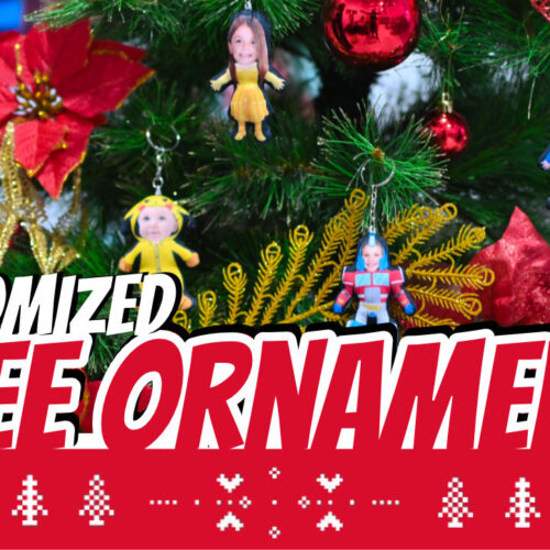 Human Doll Ornaments - Commercial