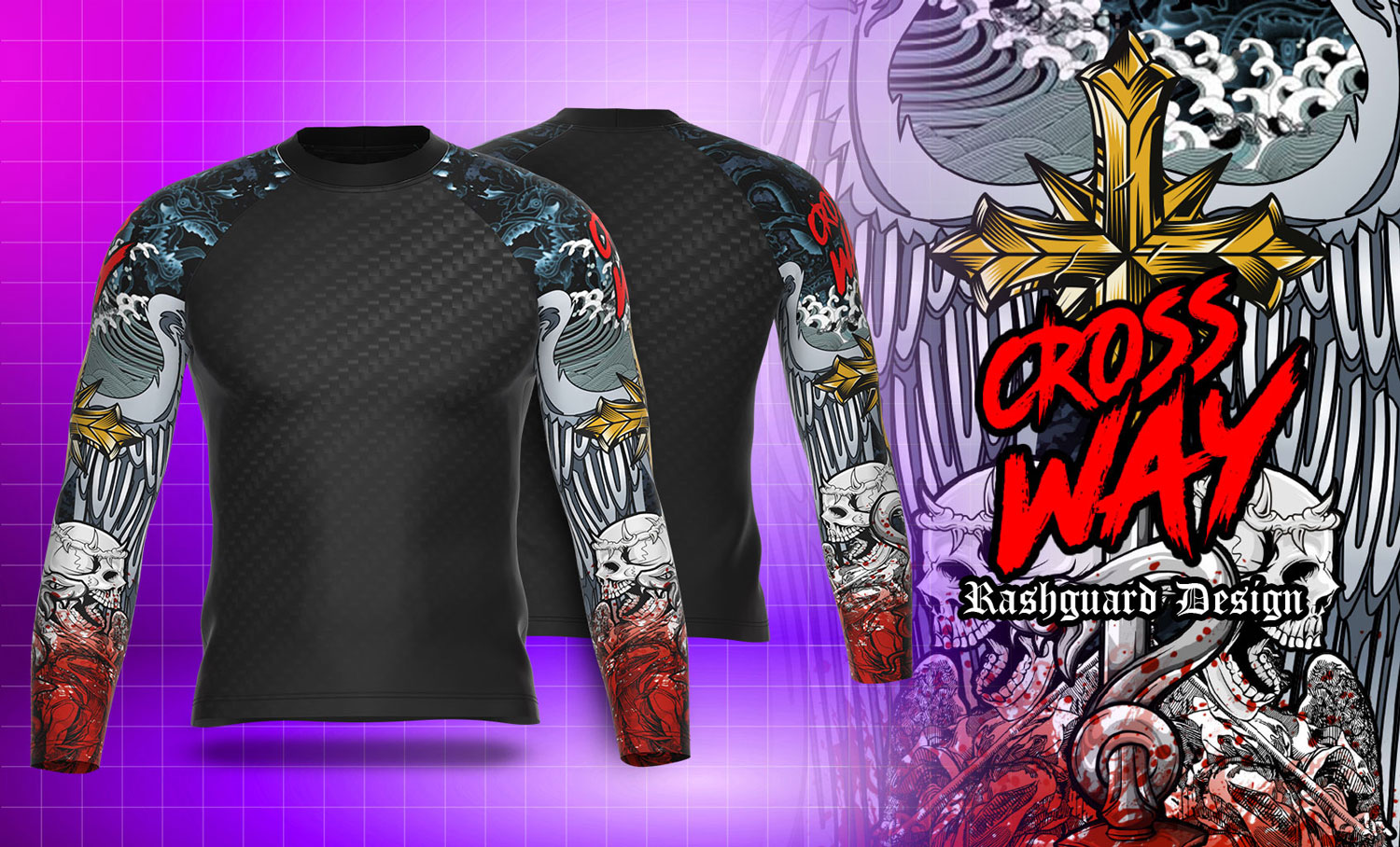 Rash Guard - Pre-Made Designs