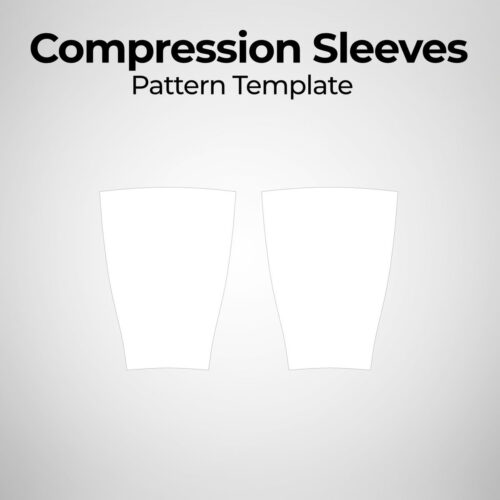 Compression Sleeves - Pattern Template